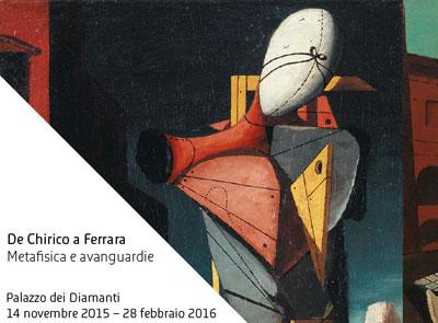 De Chirico in mostra a Ferrara